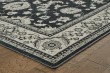 Product Image of Charcoal, Ivory (H) Traditional / Oriental Area Rug