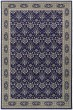 Product Image of Traditional / Oriental Navy, Grey (B) Area Rug