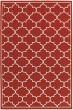 Product Image of Red, Ivory Moroccan Area Rug