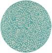 Product Image of Blue, Ivory Floral / Botanical Area Rug