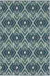 Product Image of Navy, Green Moroccan Area Rug
