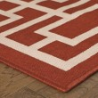 Product Image of Red, Ivory Transitional Area Rug