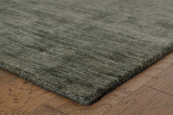 Charcoal (27102) Casual Area Rug