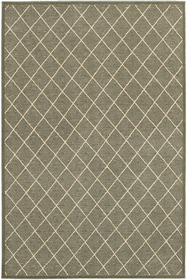 Grey, Ivory (90E) Transitional Area Rug