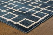 Product Image of Navy, Ivory (6140B) Transitional Area Rug