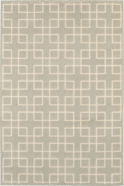 Ivory, Ivory (6140Y) Transitional Area Rug