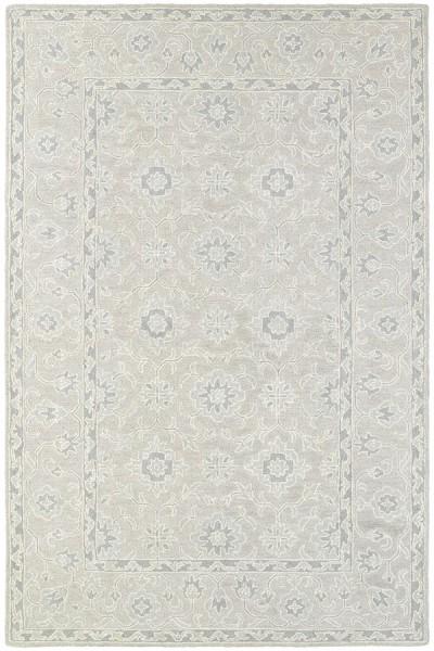 Beige, Grey Traditional / Oriental Area Rug