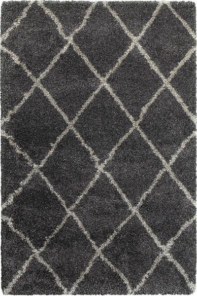 Charcoal, Grey (K) Shag Area Rug