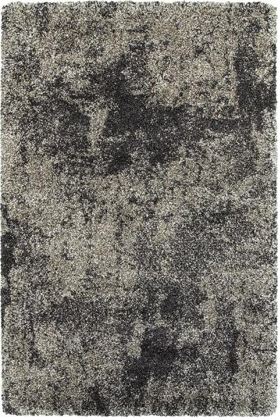 Grey, Charcoal (Z) Shag Area Rug