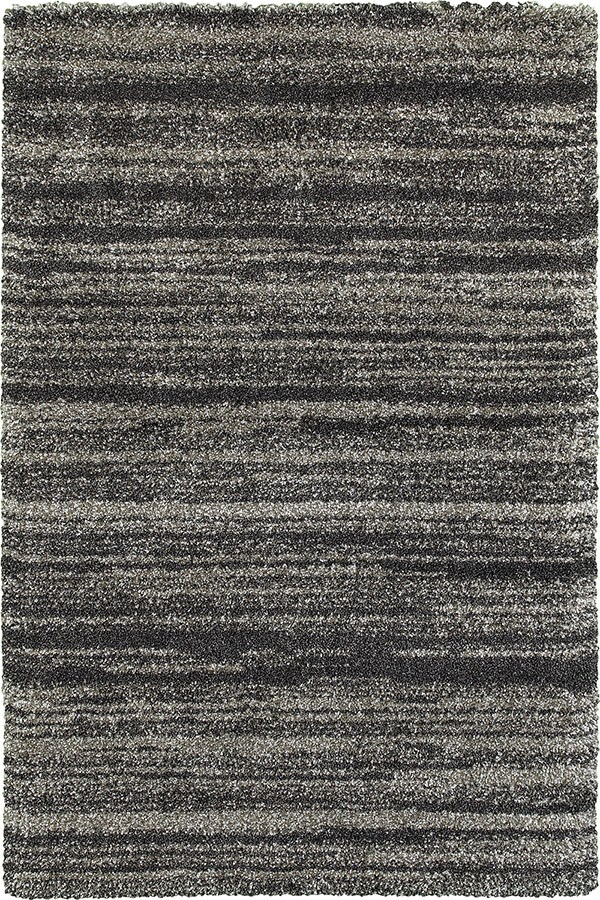 Grey, Charcoal Shag Area Rug