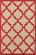 Product Image of Outdoor / Indoor Sand, Red (R9) Area Rug
