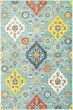 Product Image of Traditional / Oriental Blue, Yellow (L) Area Rug