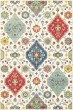 Product Image of Ivory, Red (W) Traditional / Oriental Area Rug
