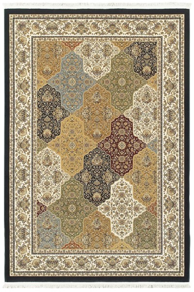 Navy (X) Traditional / Oriental Area Rug