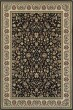 Product Image of Black, Ivory (B1) Traditional / Oriental Area Rug