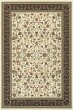 Product Image of Traditional / Oriental Ivory, Black (X1) Area Rug