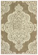 Product Image of Outdoor / Indoor Tan, Ivory (J) Area Rug