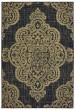Product Image of Outdoor / Indoor Black, Tan (K) Area Rug