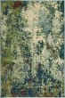 Product Image of Blue, Green Abstract Area Rug