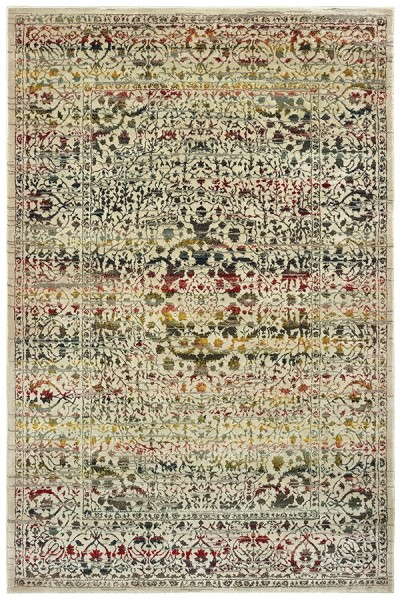 Ivory (X) Traditional / Oriental Area Rug