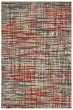 Product Image of Contemporary / Modern Grey, Red (X) Area Rug