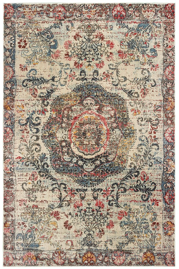 Ivory (H7) Traditional / Oriental Area Rug
