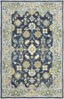 Product Image of Navy, Blue Transitional Area Rug
