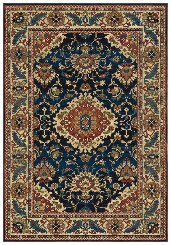 Blue Persian Area Rug