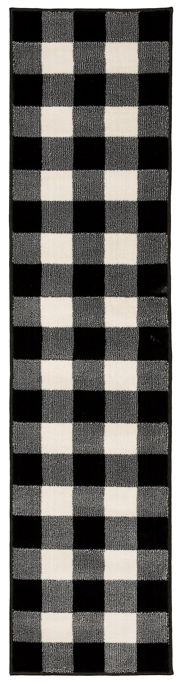 Black (D) Rustic / Farmhouse Area Rug