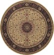 Product Image of Ivory, Black (95I) Traditional / Oriental Area Rug