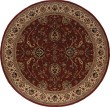 Product Image of Red, Ivory (130-8) Traditional / Oriental Area Rug