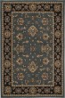 Product Image of Traditional / Oriental Blue, Black (623H) Area Rug