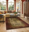 Product Image of Red, Beige (544X1) Contemporary / Modern Area Rug