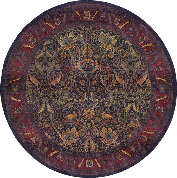 Red, Blue Traditional / Oriental Area Rug