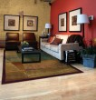 Product Image of Red, Green (890X) Contemporary / Modern Area Rug