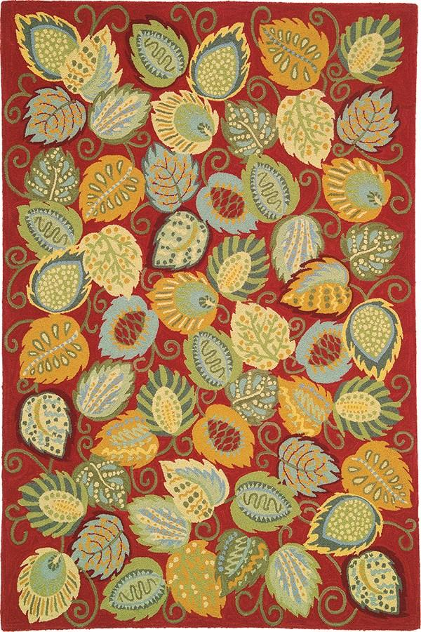Chili (18532) Floral / Botanical Area Rug