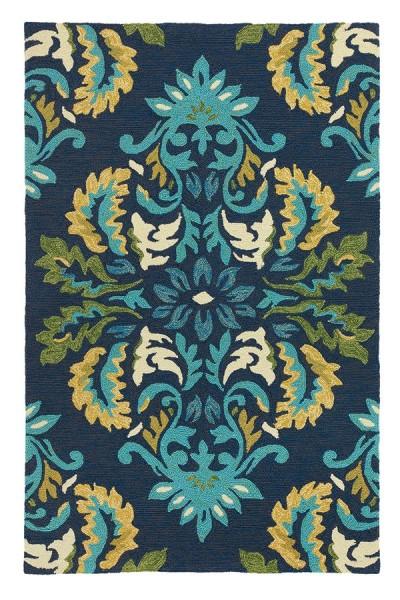 Blue (18984) Outdoor / Indoor Area Rug