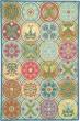 Product Image of Blue (18191) Floral / Botanical Area Rug