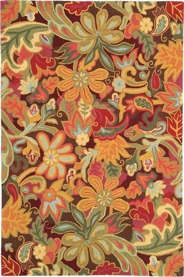 Spice (18239 Floral / Botanical Area Rug