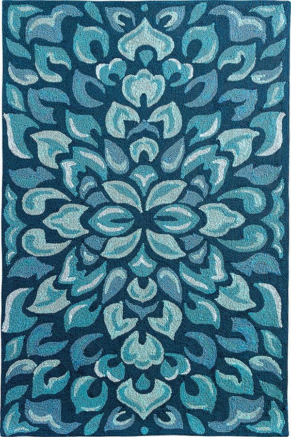Blue (19242) Outdoor / Indoor Area Rug