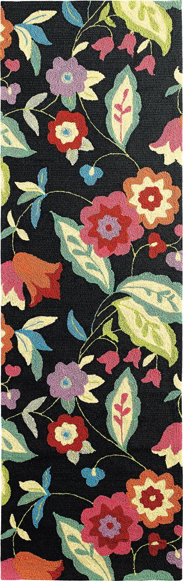 Black (19241) Outdoor / Indoor Area Rug
