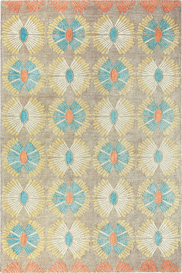 Taupe (10193) Moroccan Area Rug