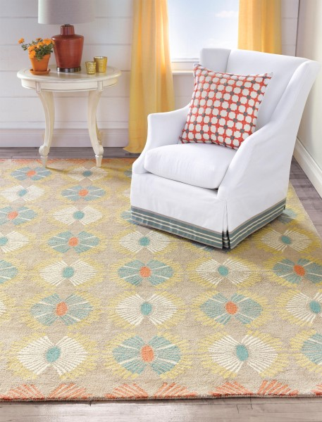 Taupe (10193) Contemporary / Modern Area Rug