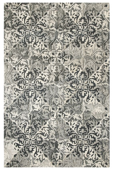Black (10755) Traditional / Oriental Area Rug