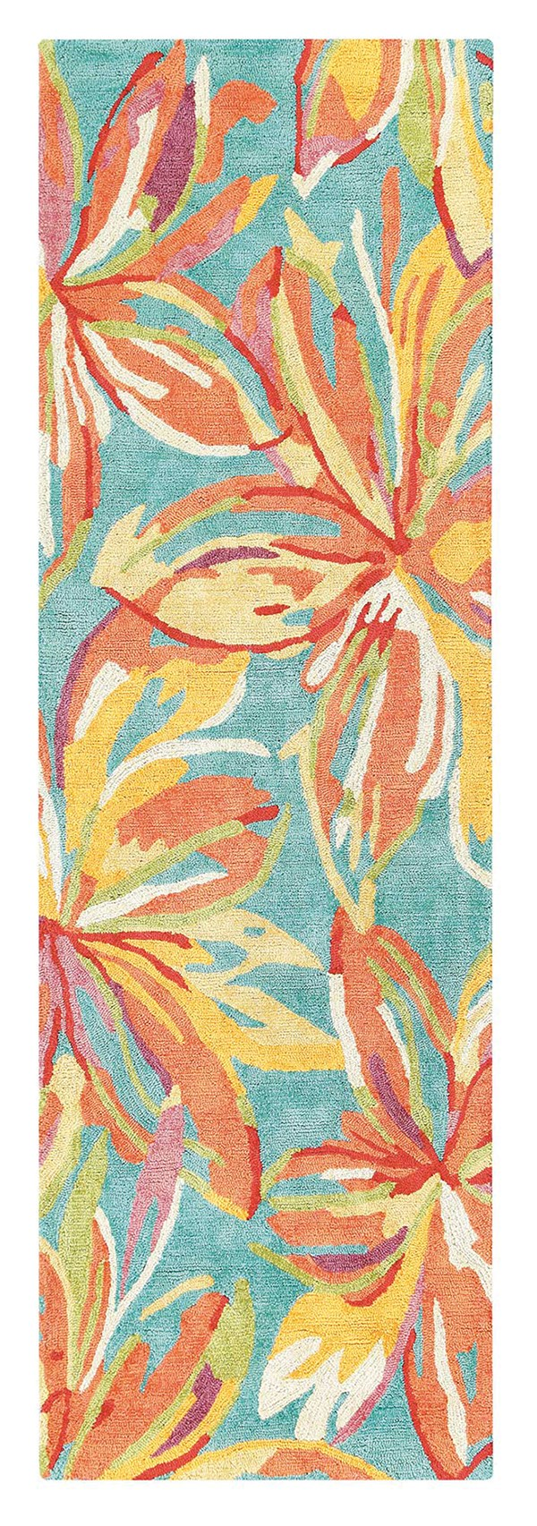 Yellow (10304) Floral / Botanical Area Rug