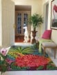 Product Image of Watermelon, Green (18923) Floral / Botanical Area Rug