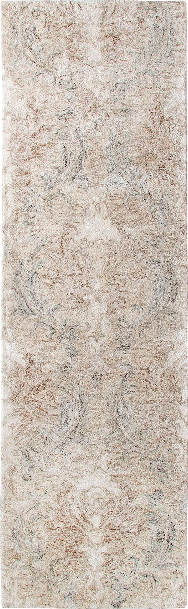 Stone (10163) Damask Area Rug