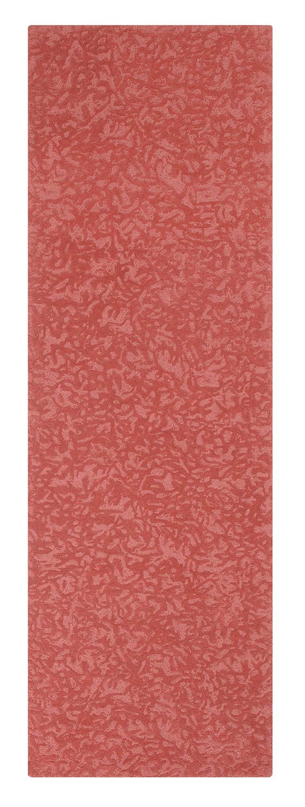 Newport Red (10310) Textured Solid Area Rug