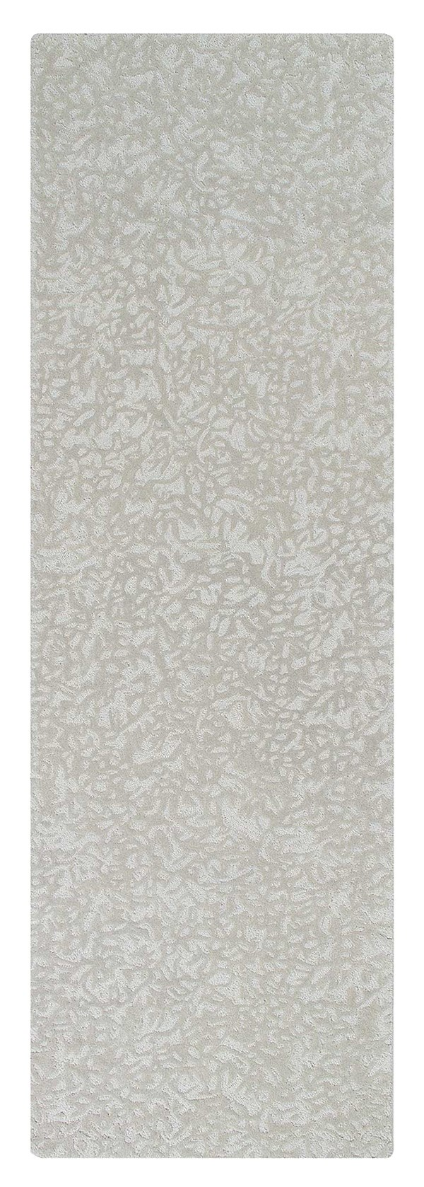 Pewter (10310) Textured Solid Area Rug