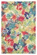 Product Image of Green, Blue (10768) Floral / Botanical Area Rug